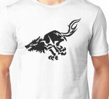 Wolf [Black] Unisex T-Shirt