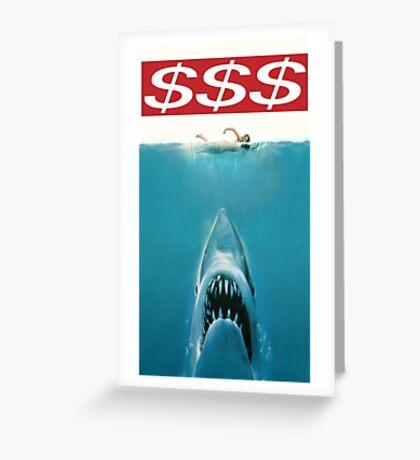 $$$ JAWS Greeting Card
