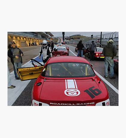 Team Road Kill Racing at COTA Photographic Print