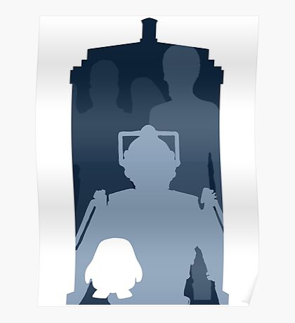 Doctor who cutout TARDIS Poster