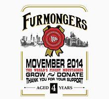 FURMONGERS 2014 Movember Unisex T-Shirt