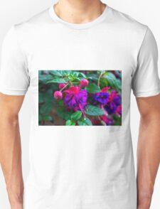 Violet Flowers - Nature Photography T-Shirt