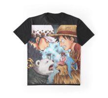 Monkey D. Luffy Vs Trafalgar D. Water Law Graphic T-Shirt