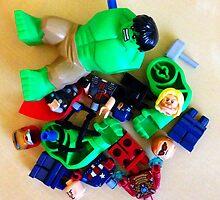 Avengers Disassembled by FendekNaughton