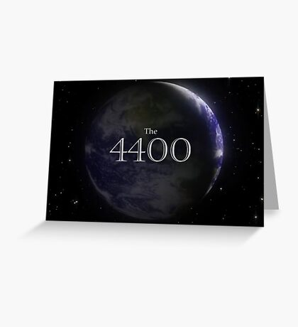 The 4400 - Season 1 Greeting Card