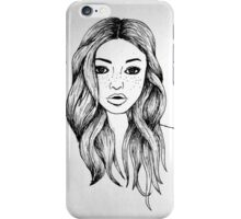 Ink Girl iPhone Case/Skin