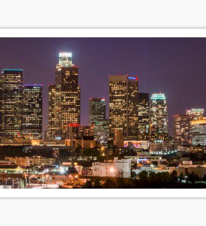 LA Skyline Sticker