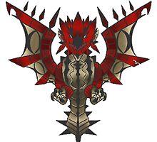 Rathalos Emblem by S4LeagueProps