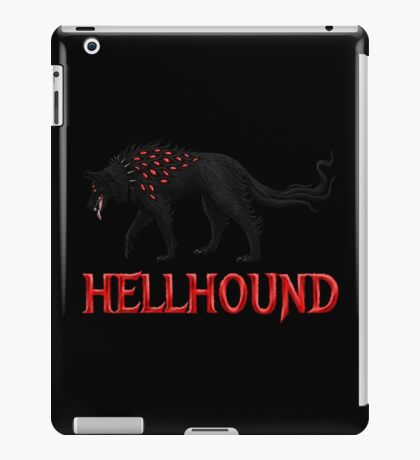 Hellhound Guardian of the Underworld iPad Case/Skin