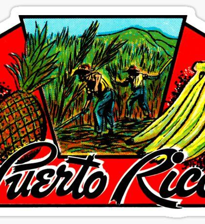 Puerto Rico Vintage Travel Decal Sticker