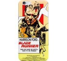 Blade Runner Poster iPhone Case/Skin