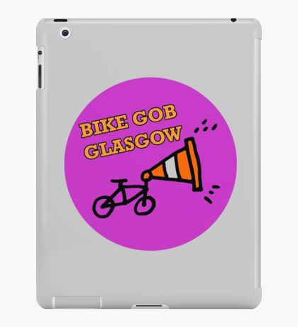 Bike Gob Glasgow Logo Stuff iPad Case/Skin