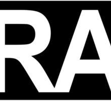TRAP MUSIC Sticker