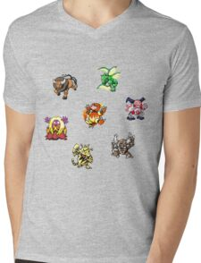Pokemon Weirdos Mens V-Neck T-Shirt