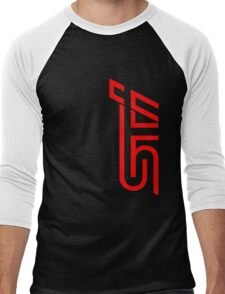 STI Classic Red Men's Baseball ¾ T-Shirt