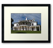 Strickland House, Sydney, Australia. Framed Print