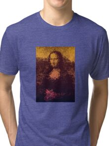 Sunset Mona Lisa Tri-blend T-Shirt