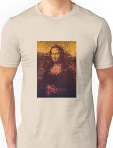 Sunset Mona Lisa Unisex T-Shirt