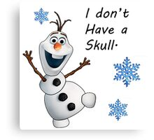Frozen- Olaf  Canvas Print