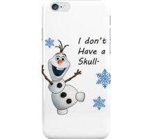 Frozen- Olaf  iPhone Case/Skin