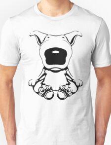 English Bull Terrier Sit Design Unisex T-Shirt