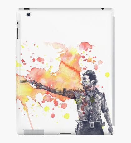 Walking Dead - Rick iPad Case/Skin