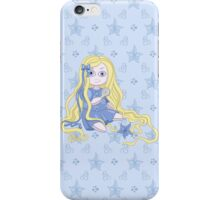 Pretty and weird Rapunzel doll  iPhone Case/Skin