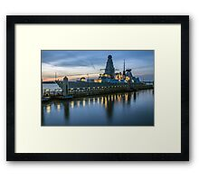 HMS Dragon Framed Print