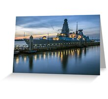 HMS Dragon Greeting Card