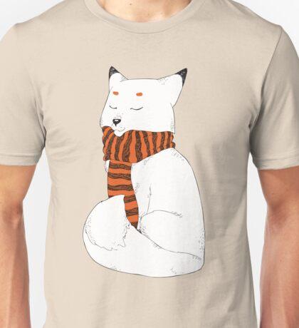 Vulpes lagopus(Arctic Fox) Unisex T-Shirt