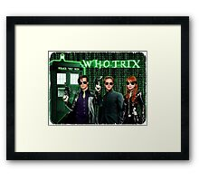 The Whotrix Framed Print