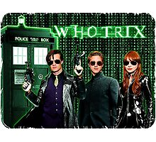 The Whotrix Photographic Print