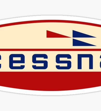 Retro Cessna Logo Sticker
