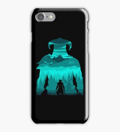Dragonborn Silhouette iPhone Case/Skin
