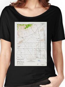 USGS TOPO Map California CA Willow Springs 302004 1943 62500 geo Women's Relaxed Fit T-Shirt