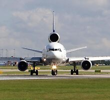 Lufthansa Cargo MD-11F at Manchester Airport by PlaneMad1997
