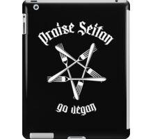 Praise Seitan 1.1 (white) iPad Case/Skin