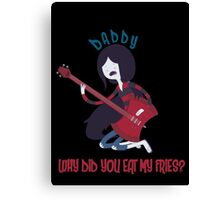Daddy - Adventure Time Canvas Print