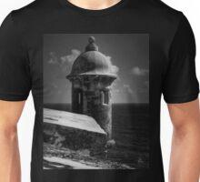 Garita del Morro 001 BW Unisex T-Shirt