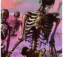 Skeletons Rising by Centari0217