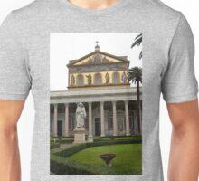 St Pauls outside the wall basilica  Unisex T-Shirt