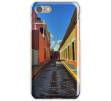 Puerto Rico - Old San Juan 009 iPhone Case/Skin