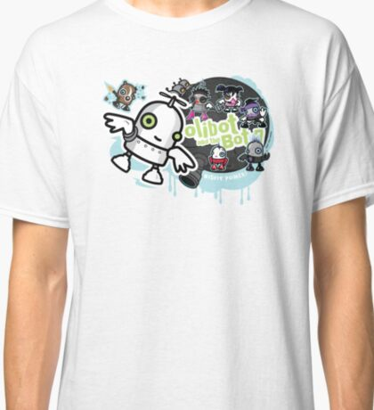 OLIBOT AND THE BOT 7 Classic T-Shirt