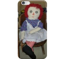 Raggedy Ann iPhone Case/Skin