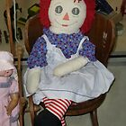 Raggedy Ann by WildestArt
