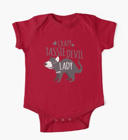 Crazy Tassie devil lady One Piece - Short Sleeve