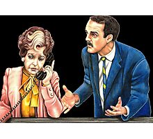 Fawlty Towers : Sybil and Basil Photographic Print