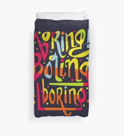 Boring Duvet Cover