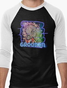 Epic Groudon Streetart Tshirts + More ' Pokemon ' Men's Baseball ¾ T-Shirt