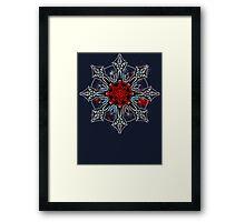 Cross of Chaos Framed Print